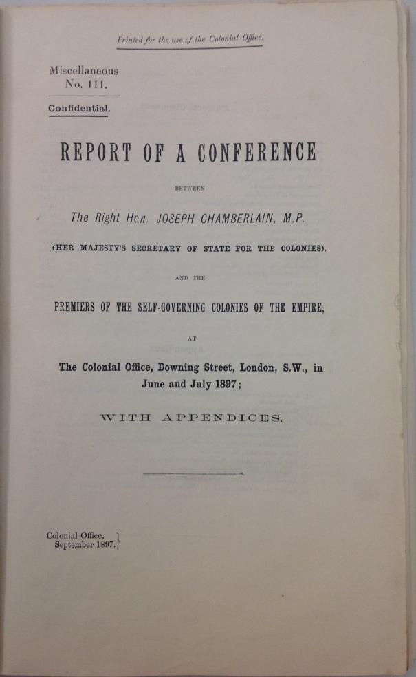 Imp Con 1897 cover page